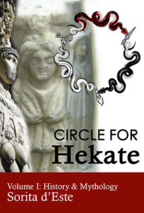 Circle for Hekate - Book cover - Volume I - HIstory and Mythology - Serpent Circle for Hekate illustrated by Rosa Laguna.