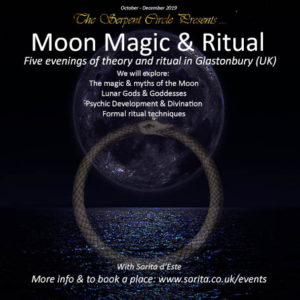 The Serpent Circle Magical Ritual Study in Glastonbury Somerset UK - Pagan / Wicca Coven or Group in England